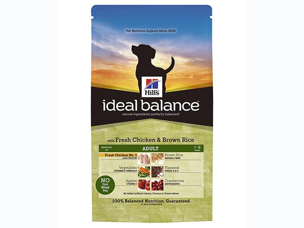 Illustration Ideal Balance Canine Adult Poulet & Riz 12 kg Croquettes chien