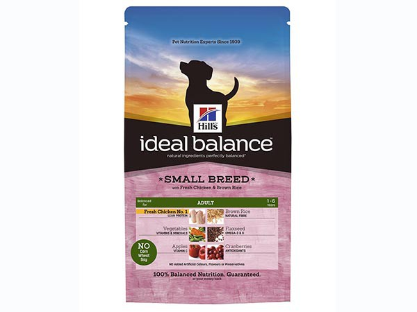 Illustration Ideal Balance Canine Adult Small Breed Poulet & Riz 2 kg Croquettes chien