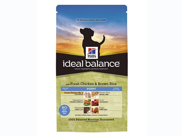 Illustration Ideal Balance Canine Puppy Poulet & Riz 12 kg Croquettes chiot