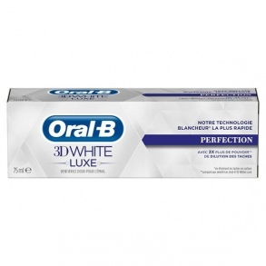 Illustration Dentifrice 3D White Luxe Eclat de Perle 75 ml