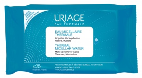 Illustration Eau micellaire thermale - 25 lingettes