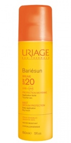 Illustration Bariésun Brume moyenne protection SPF20 - 150 ml