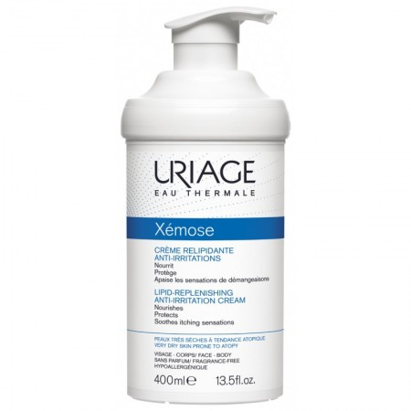 Uriage - Xémose Crème relipidante anti-irritations - 400 ml