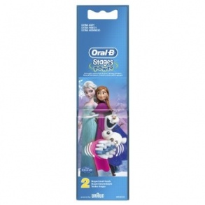 Oral-b - Brossettes Stages Power x2 - Reine des Neiges