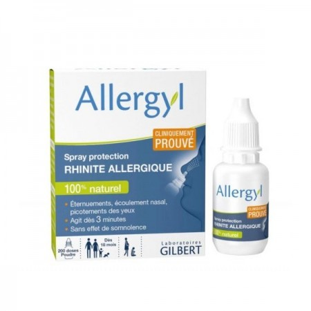 Gilbert Laboratoires - Allergyl Spray protection rhinite allergique