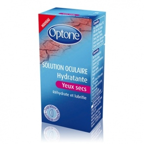 Optone - Solution oculaire hydratante pour yeux secs - 10 ml
