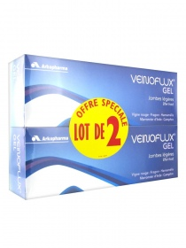 Illustration Veinoflux Gel effet froid - lot de 2 x 150 ml