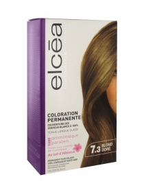 Elcea - Coloration permanente Blond doré 7.3
