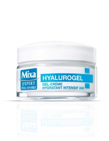 Mixa - Hyalurogel hydratant intensif à l'acide hyaluronique - 50 ml