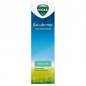 Vicks - Spray nasal isotonique - 100 ml