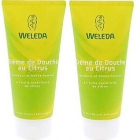Illustration Crème de douche au citrus - lot de 2 x 200 ml