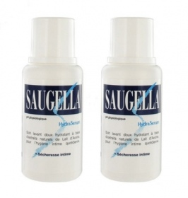 Saugella - HydraSerum hydratation des muqueuse - lot de 2 x 200 ml