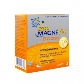 Illustration Magnévie Boost - 20 sachets