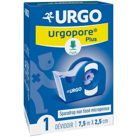 Illustration Urgopore Sparadrap microporeux plus - 7,5 m x 2,5 cm