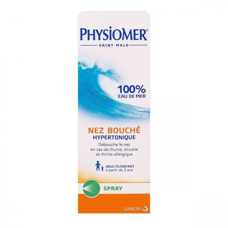 Illustration Physiomer Spray hypertonique - 135 ml