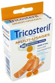 Tricosteril - Multi-usages 48 pansements assortis