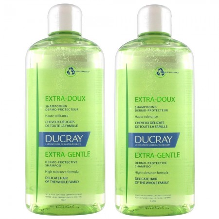 Illustration Shampooing extra-doux 2 x 400 ml