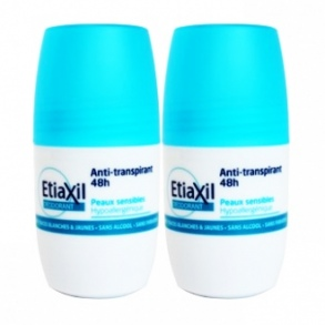 Illustration Déodorant anti-transpirant 48h - lot de 2 x 50 ml