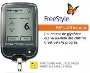 Abbott Diabetes Care - FreeStyle PAPILLON InsuLinx