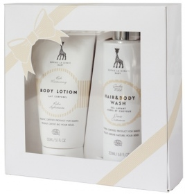 Illustration Gift Box 1 - Lait corps 150 ml + Gel lavant 200 ml