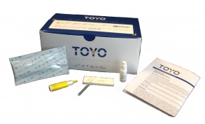 Nephrotek - Toyo VHC Test d'orientation et de diagnostic du VHC - boite de 40 tests