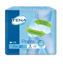 Tena - Pants Plus Small - paquet de 14 protections
