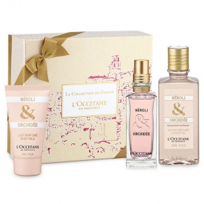 Illustration Coffret Parfum néroli & orchidée