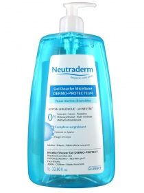 Neutraderm - Gel douche micellaire Micellaire 1 litre + Gel douche micellaire Micellaire 250 ml