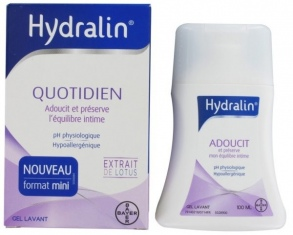 Illustration Gel lavant quotidien usage intime - 100 ml