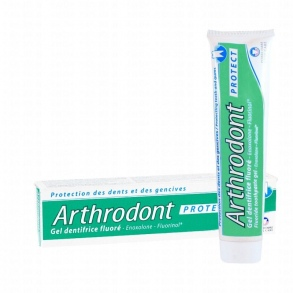 Illustration Arthrodont Protect Gel dentifrice fluoré - 75 ml