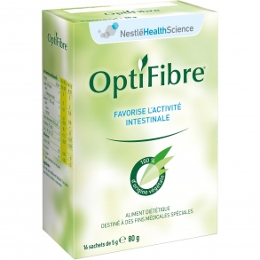 Illustration Optifibre Digestion et transit - 16 sachets de 80 g