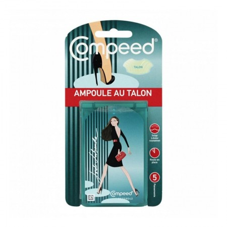Compeed - Pansements Ampoule au talon - 5 pansements