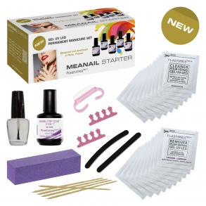 Plastimea - MeaNail Refill Kit recharge UV/LED pour manucure semi permanente