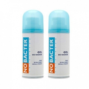 Illustration Nobacter Gel de rasage - lot de 2 x 150 ml