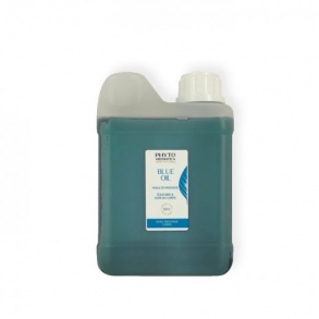 Illustration Blue Oil Huile de massage Bio - 500 ml