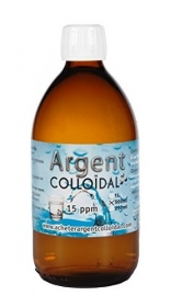 Pure Colloïdal - Argent colloidal 15ppm - 500 ml