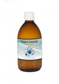 Illustration Argent colloidal 25ppm - 500 ml