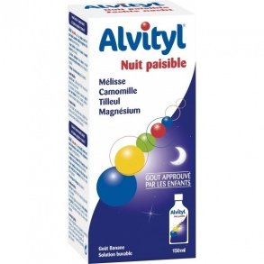 Illustration Alvityl sirop nuit paisible - 150 ml