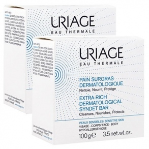 Illustration Pain surgras dermatologique - lot de 2 x 100 g
