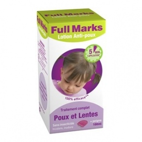 Reckitt Benckiser - Full Marks Spray anti poux 100 ml + peigne