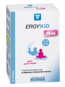 Illustration Ergykid Mag - 14 sachets