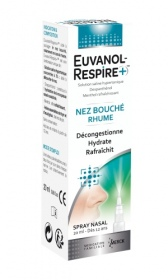 Merck Médication Familiale - Euvanol-Respire + Spray nasal - 20 ml