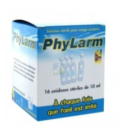 LCA Pharmaceutical - Phylarm Solution stérile - 16 unidoses stériles de 10 ml
