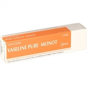 Merck Médication Familiale - Vaseline Pure Monot - 100 ml