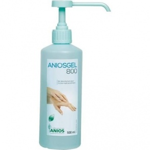 Illustration ANIOSGEL 800 Gel hydroalcoolique 500ml