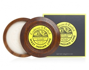 Crabtree & Evelyn - West Indian Lime Savon à raser - 100 g