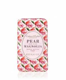 Illustration Pear and Pink Magnolia Savon - 158 g