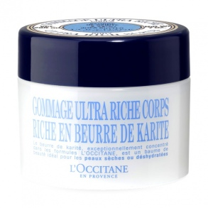 Illustration Gommage ultra riche corps karité - 200 ml