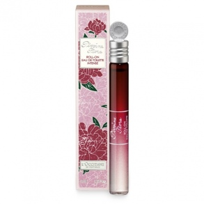 Illustration Eau de toilette intense Pivoine Flora - roll-on de 10 ml