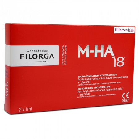 Filorga - M-HA 18 Injection de comblement - 2 x 1 ml